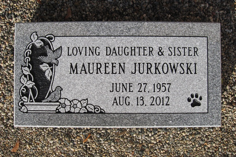 engraved-flat-headstone